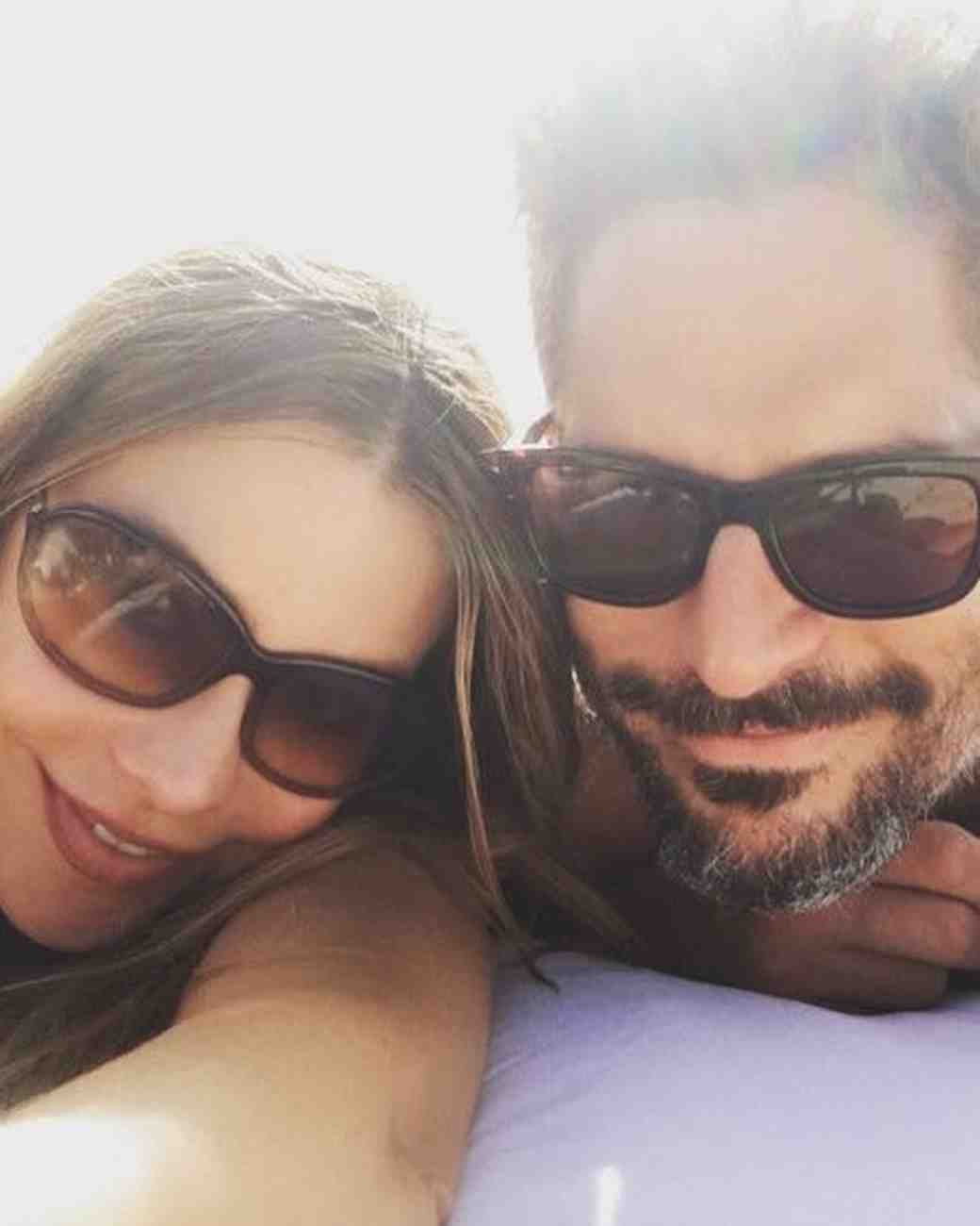 Sofia Vergara and Joe Manganiello on Honeymoon in Turks and Caicos