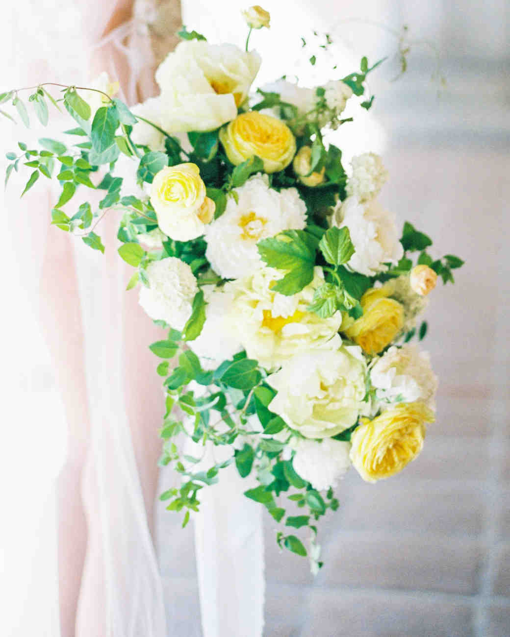 Light Yellow Wedding Bouquet