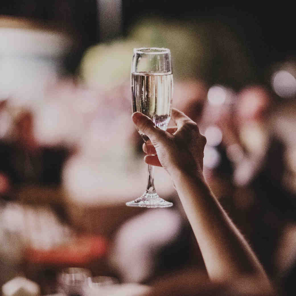 The Stages of Giving a Wedding Toast