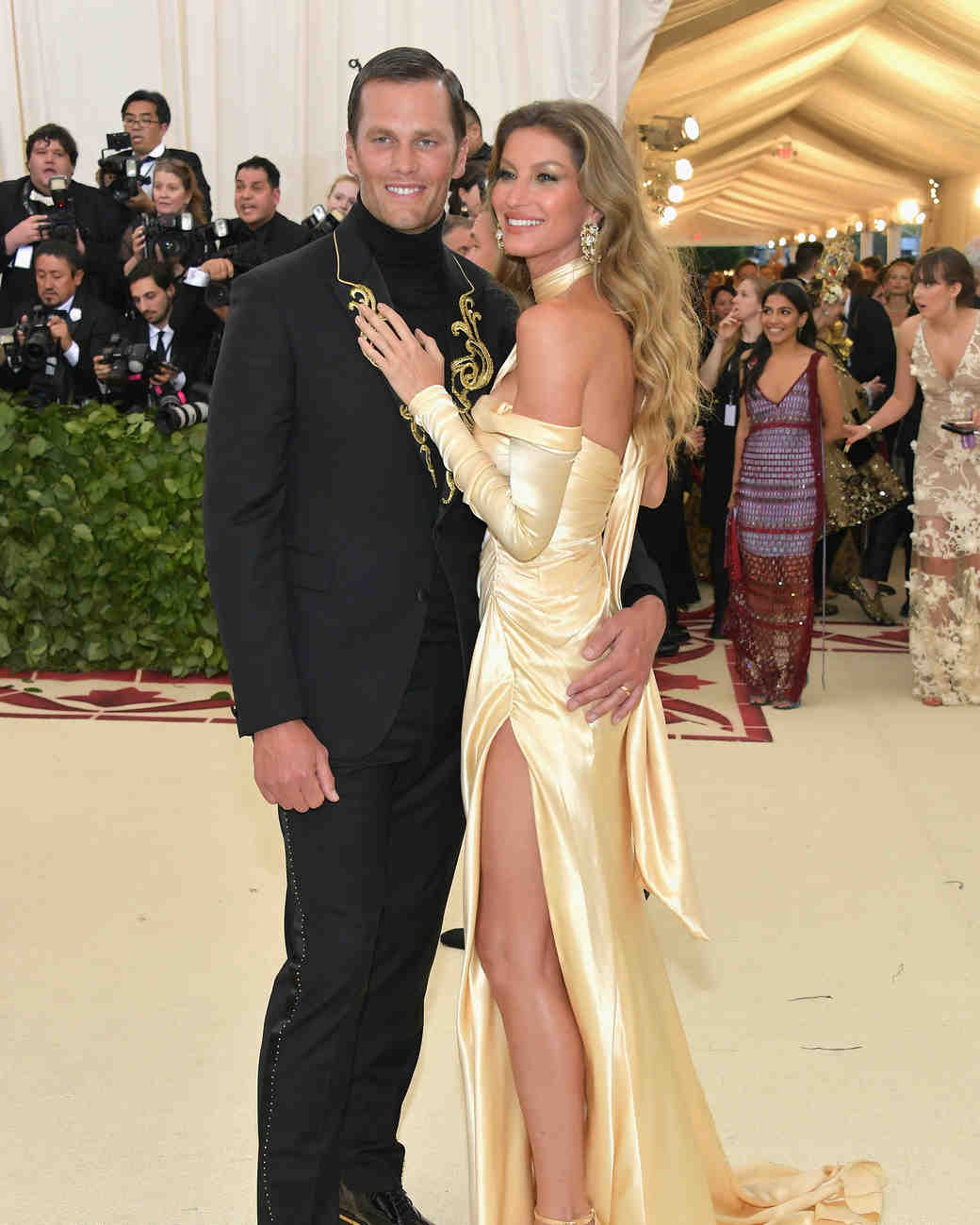 Tom Brady and Gisele Bundchen Met Gala 2018