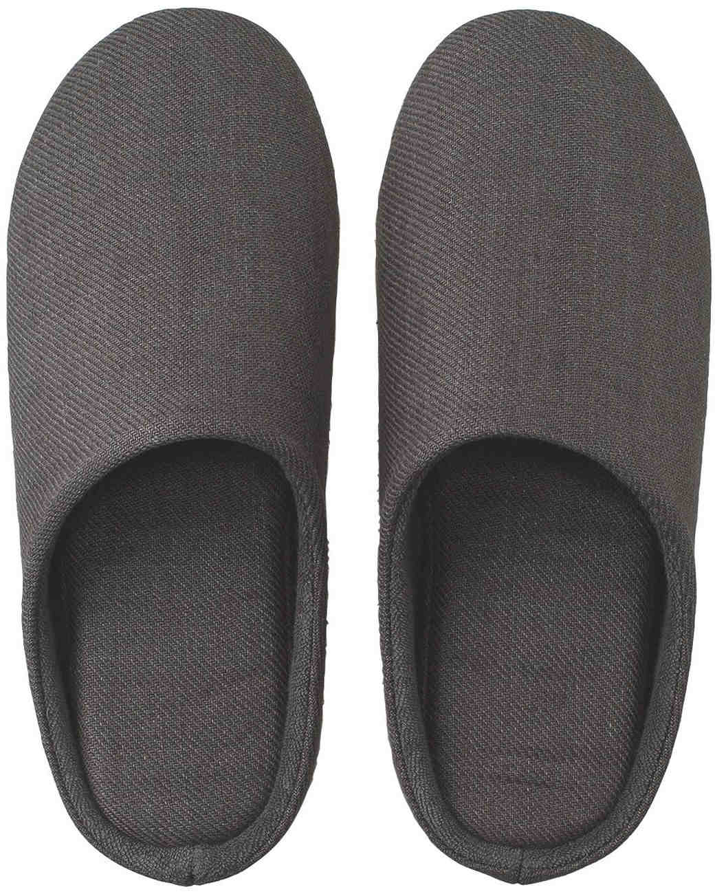 under 50 gift guide linen slippers