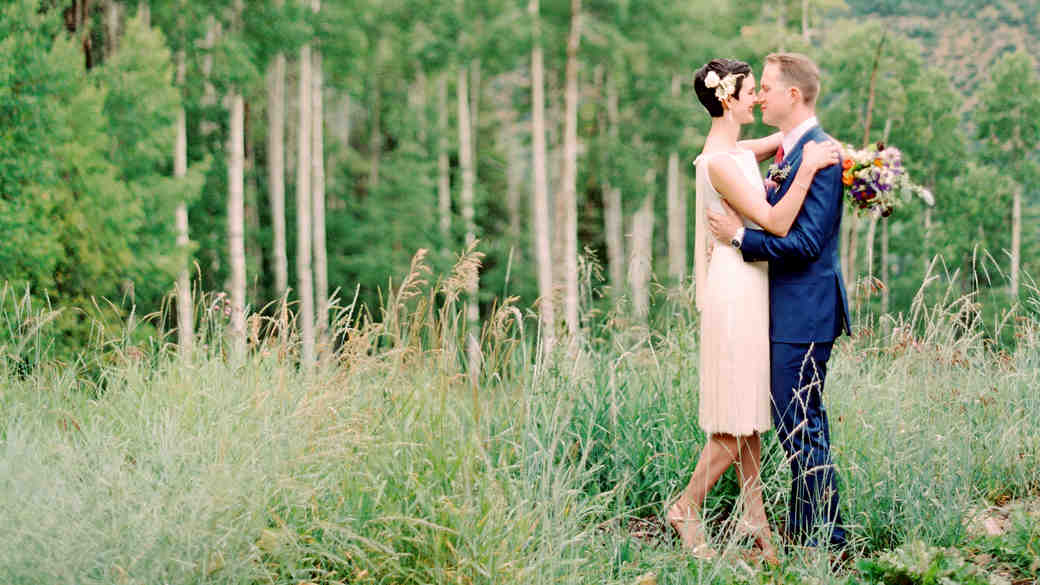 "Whitney and Matt's ""Perfectly Imperfect"" Wedding in Colorado"