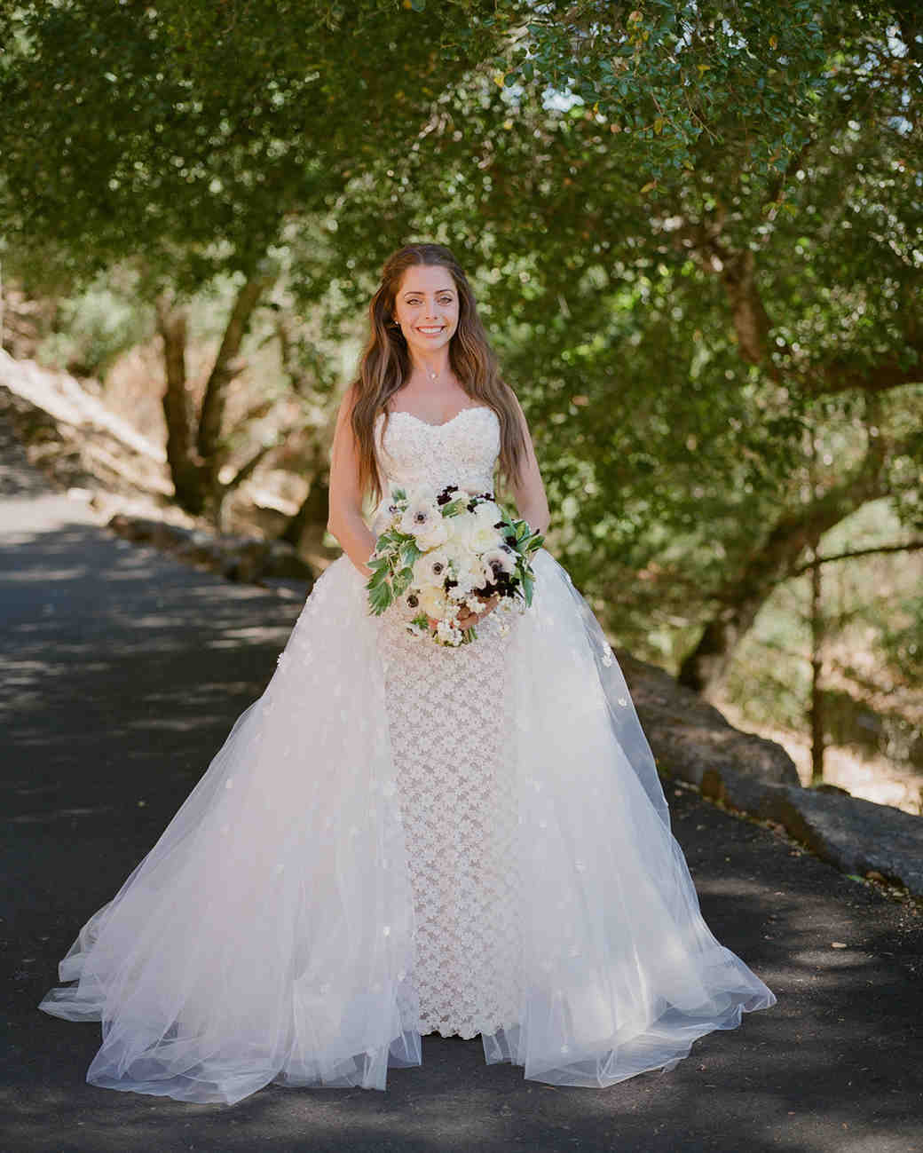 alessa andrew wedding bride