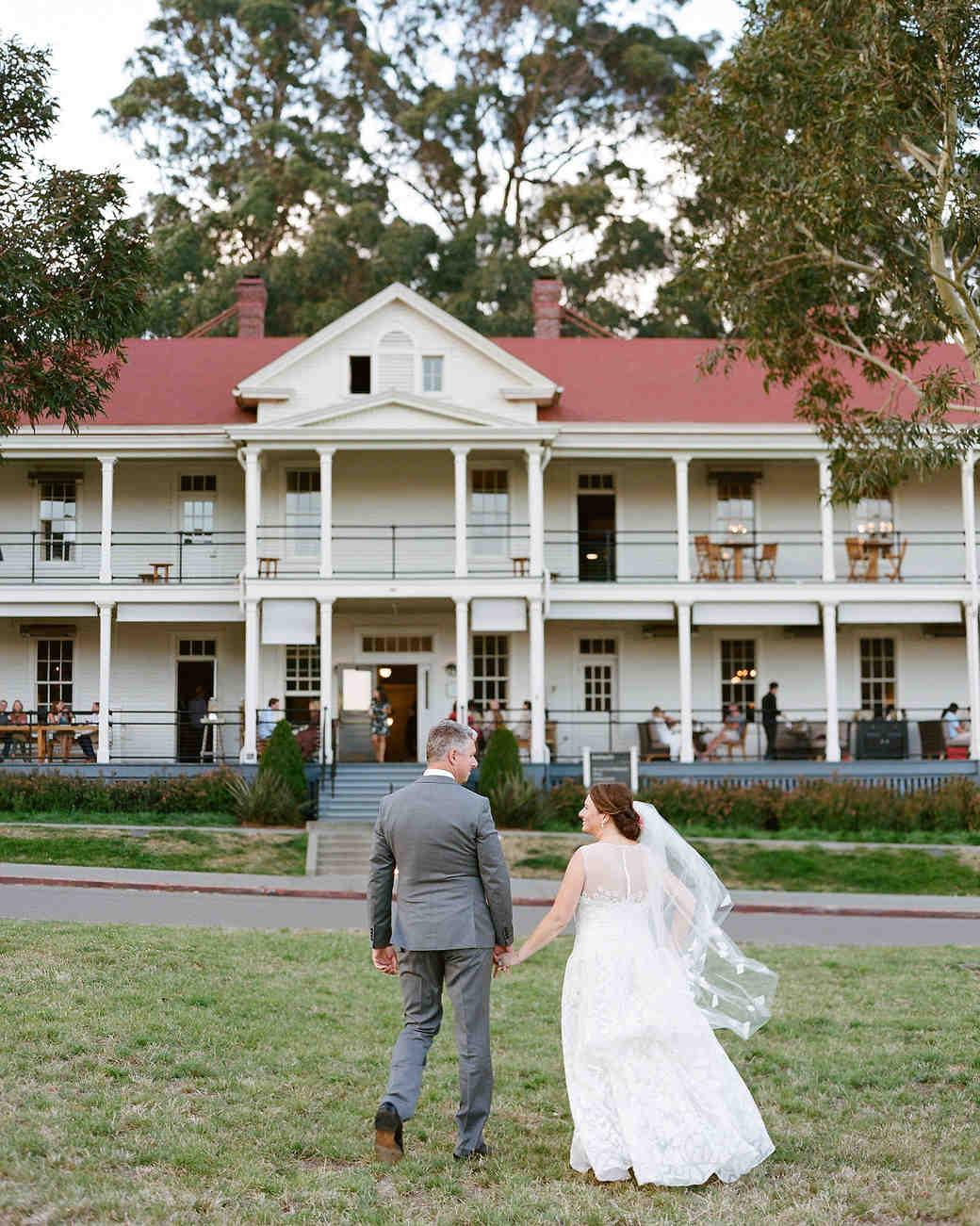 wedding couple reception venue