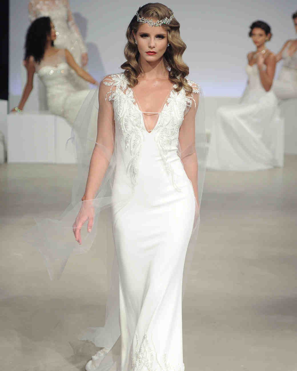Nude Wedding Dresses 94 Simple Anne Barge Fall Wedding