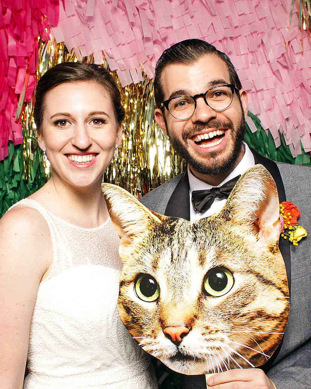 becca zac wedding photo booth