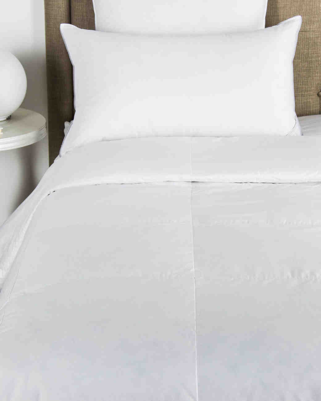 380 thread count light down pillows