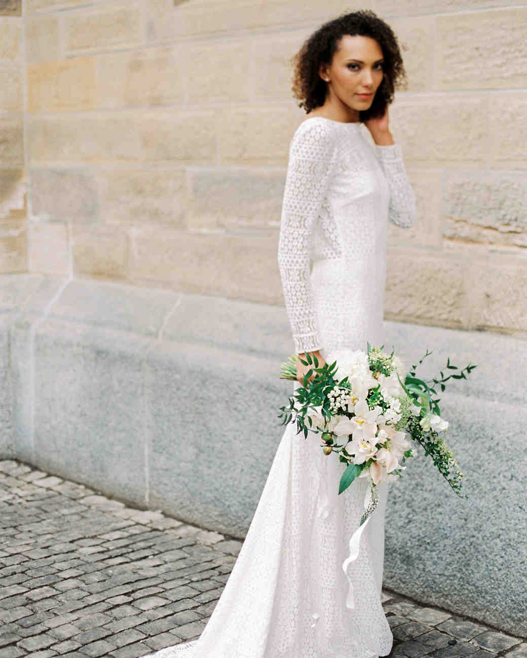 21 Ways to Wear a Boat Neck Wedding Dress | Martha Stewart Weddings