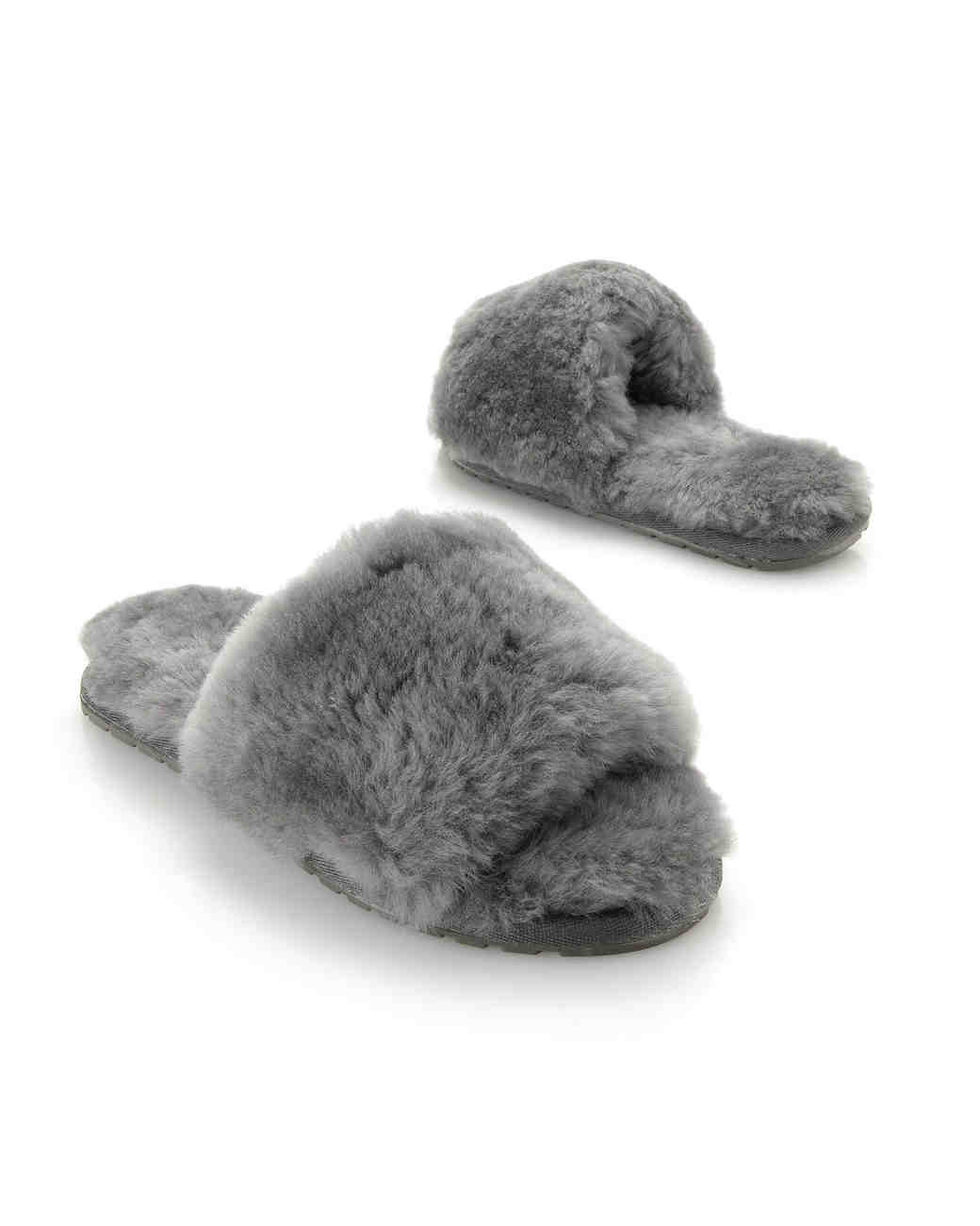 emu sheepskin slippers
