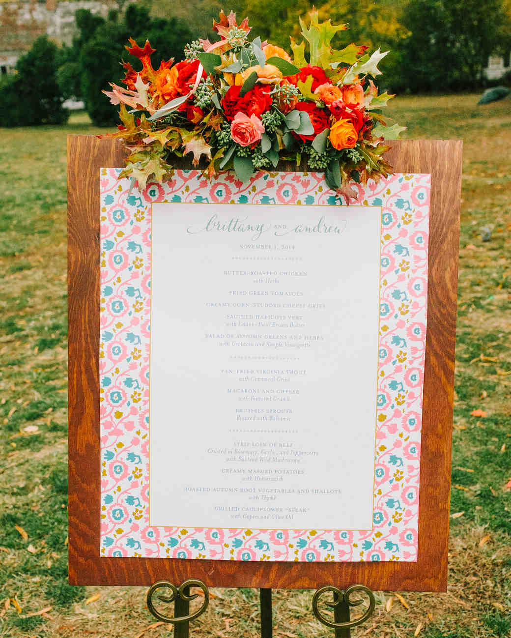 Brittany and Andrew\'s Pretty Fall Wedding at Thomas Jefferson\'s ...