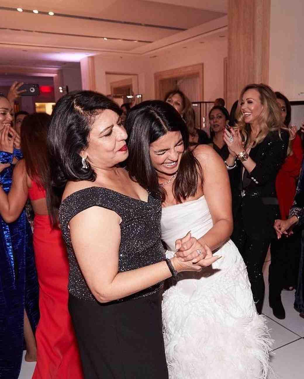 priyanka chopra and mother bridal shower