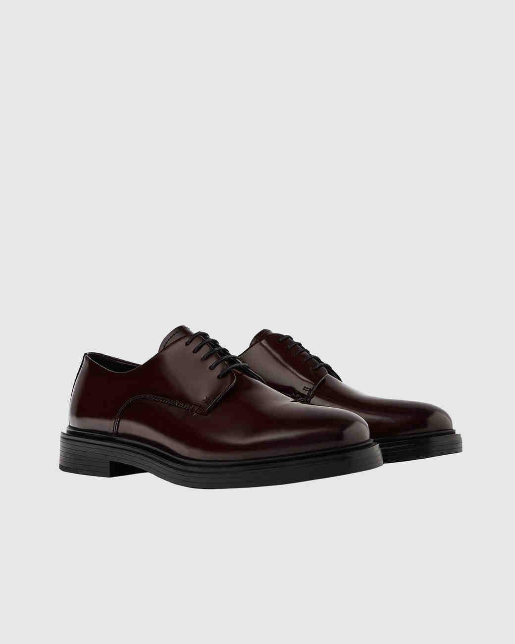 Zara Glossy Finish Leather Shoes