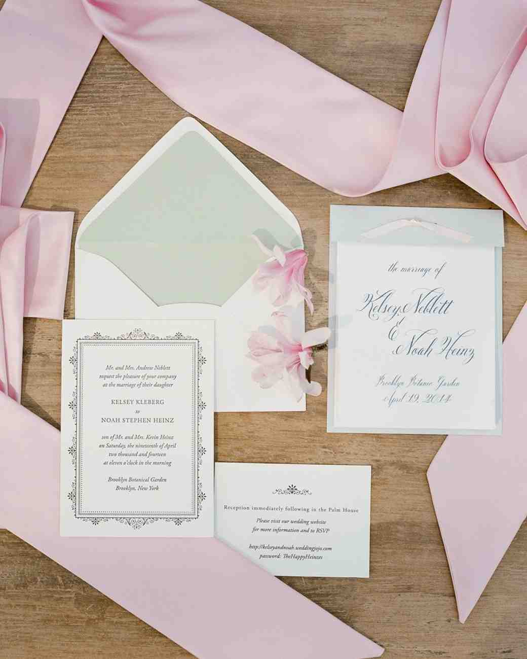 pastel wedding invitation - 57 Unique Wedding Vows Examples Impression