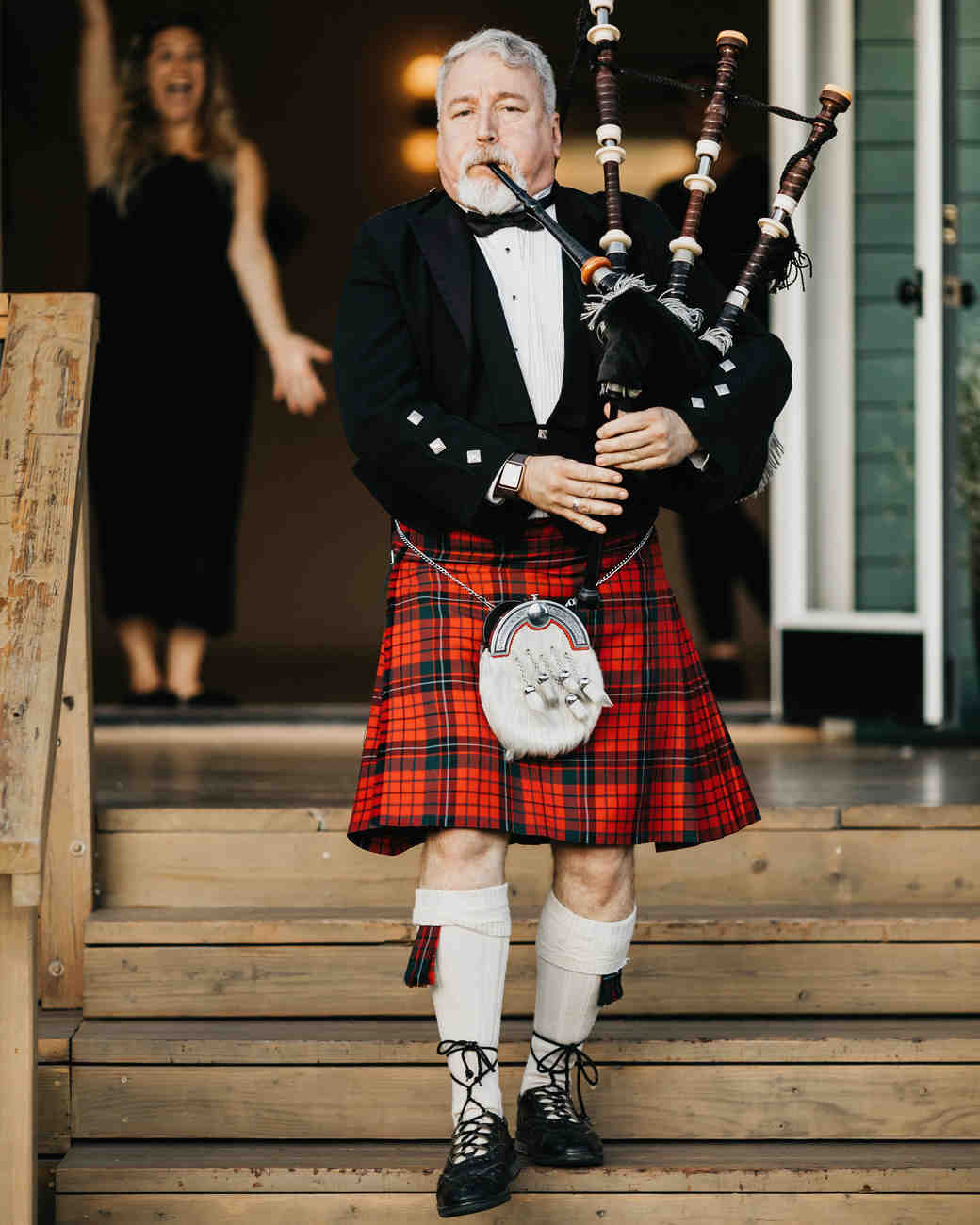 colleen pip wedding bagpiper