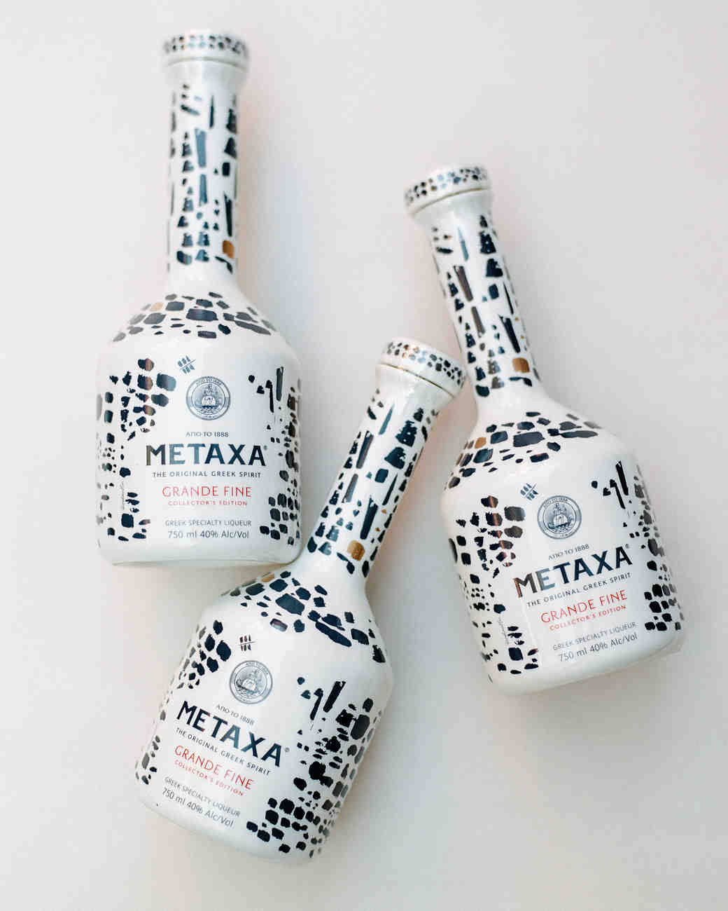 cristina chris wedding metaxa liquor
