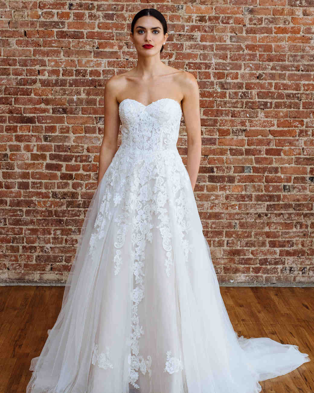 Davids Bridal Fall 2018 Wedding Dress Collection Martha Stewart