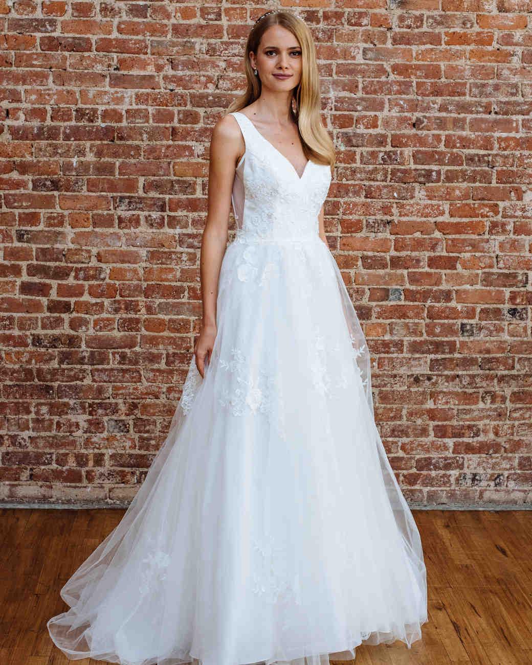 Nice Davids Bridal Fall 2018 Wedding Dress