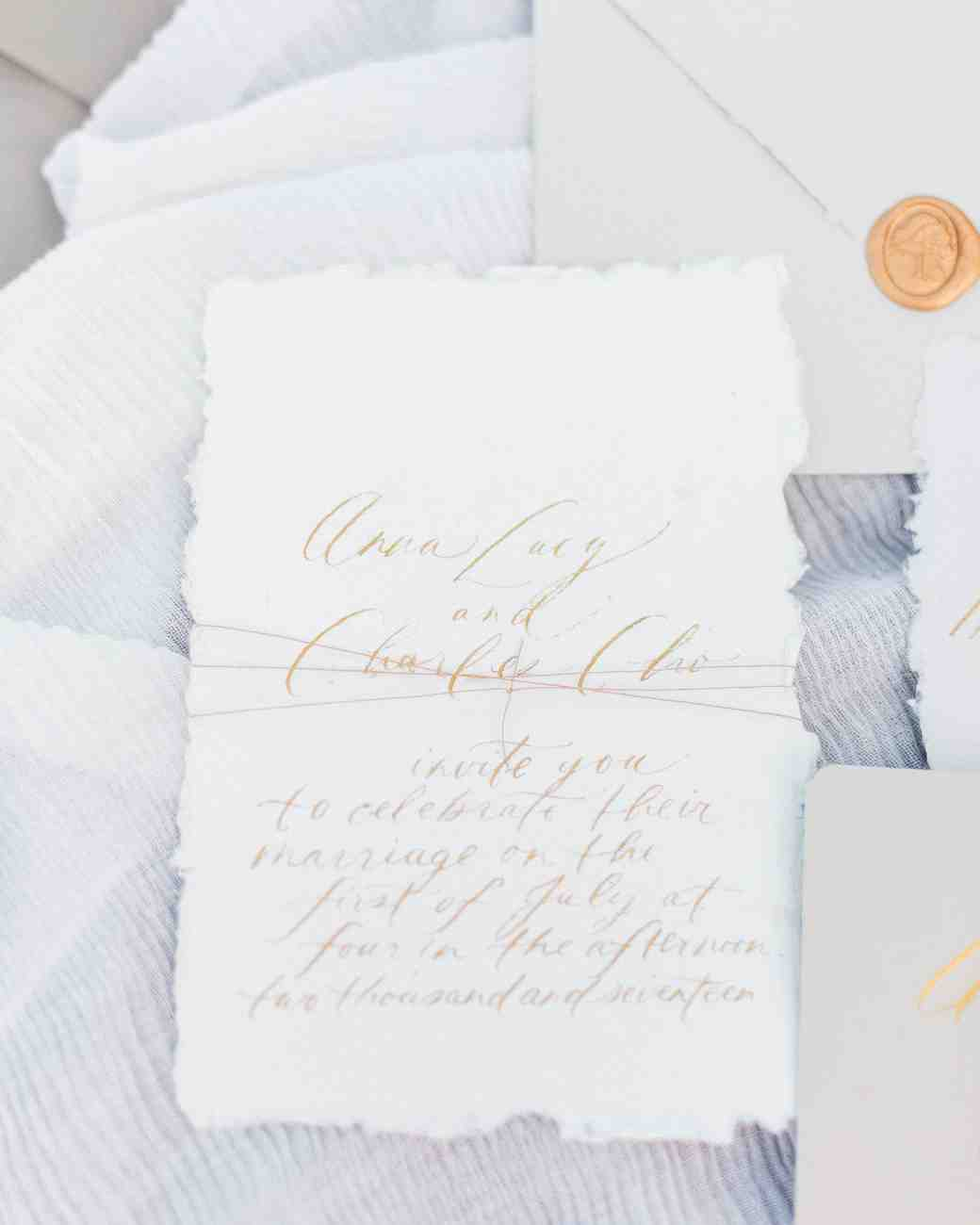 deckle edge invitations tiffany sangster