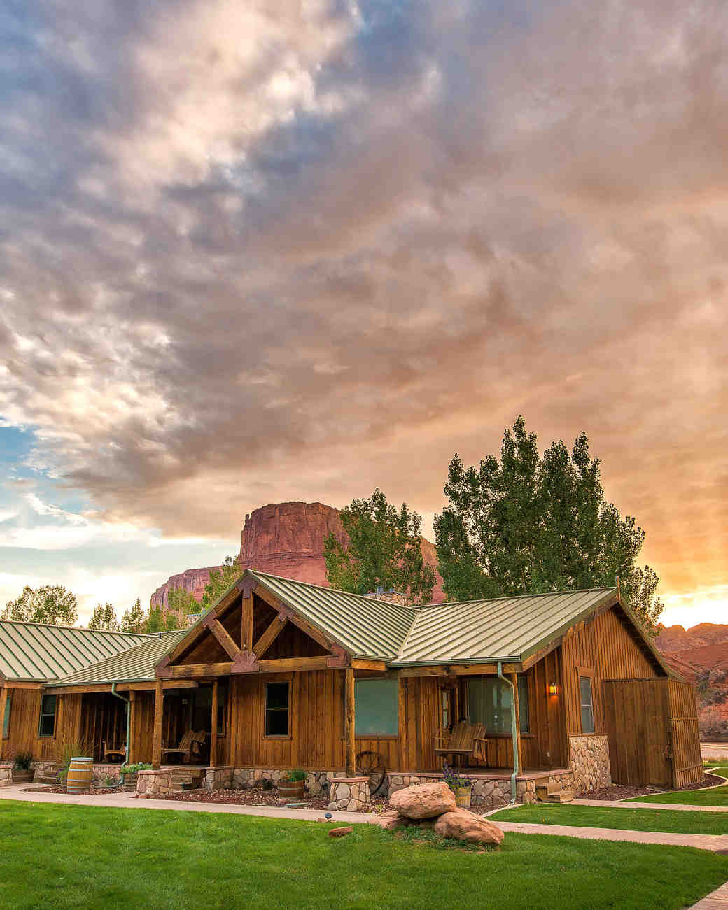 dude ranch honeymoon sorrel river ranch sky cabin outdoor