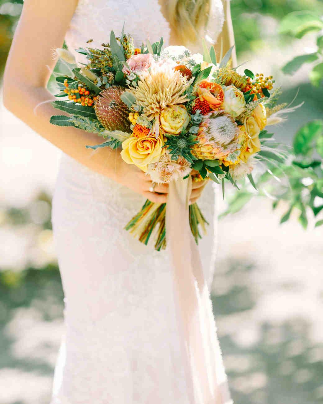 fall wedding bouquets priscila valentina