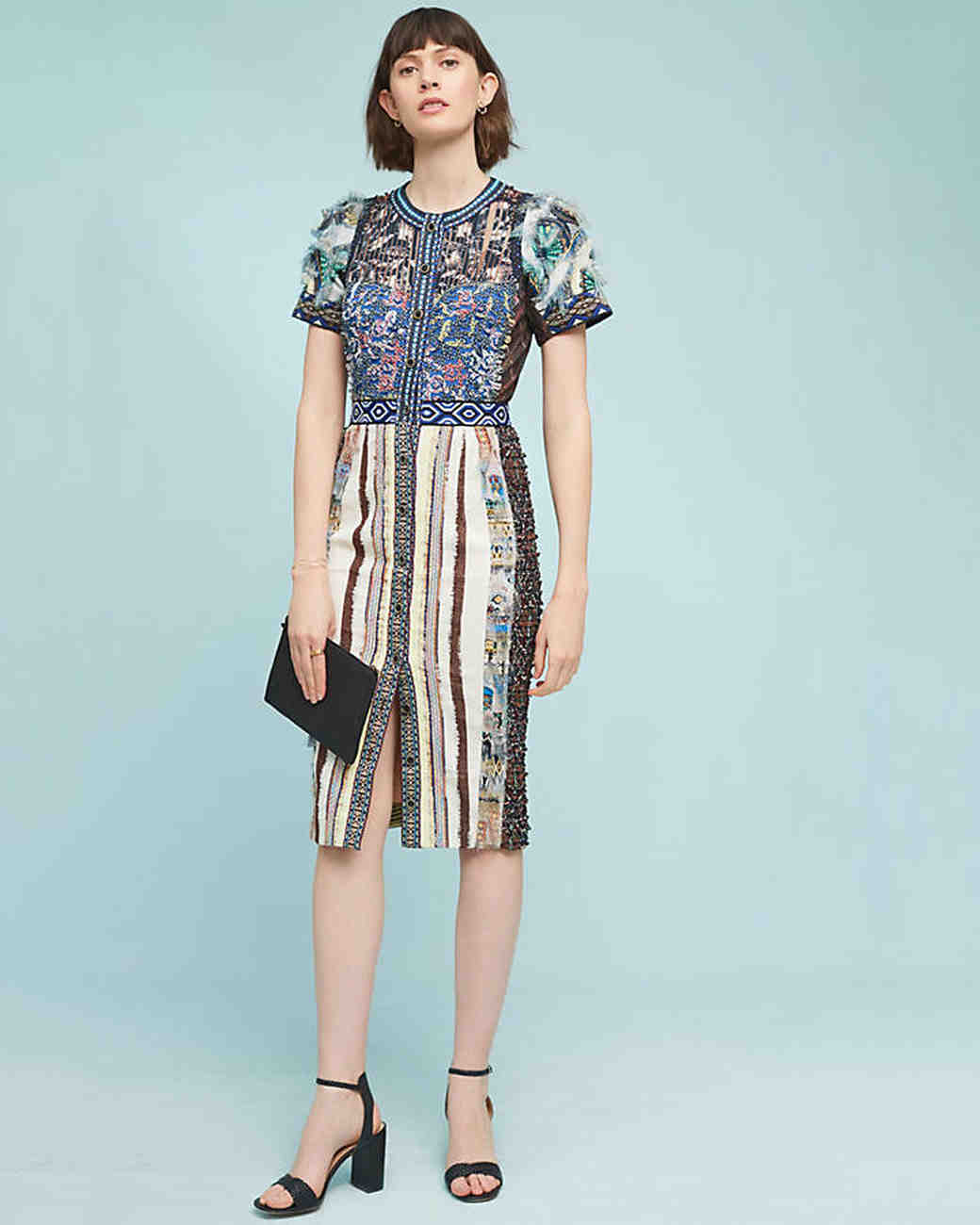 36 Beautiful Dresses to Wear as a Wedding Guest This Fall | Martha ...