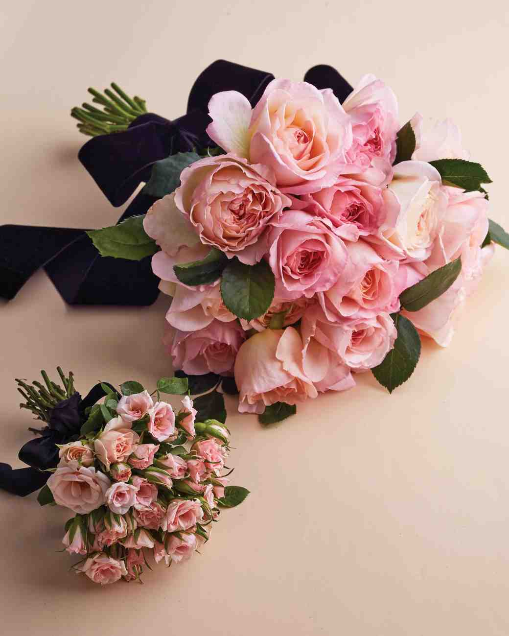Rose Wedding Ideas: Pretty In Pink Wedding Bouquet Ideas