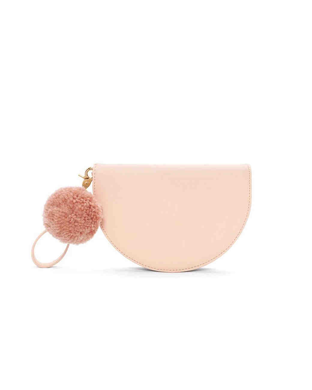 blush clutch