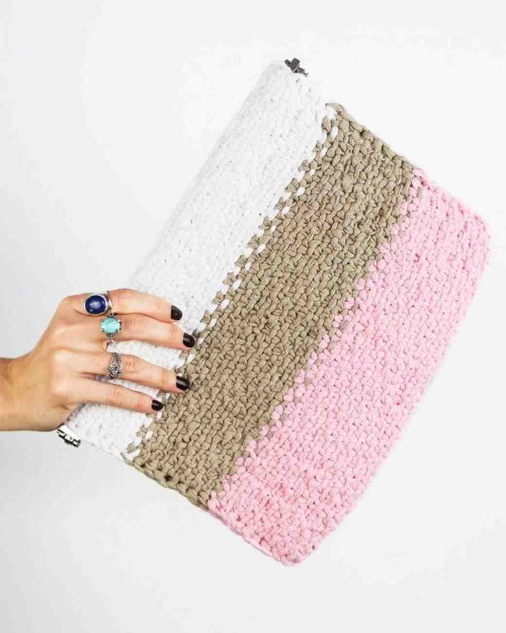 We are Knitters DIY Clutch