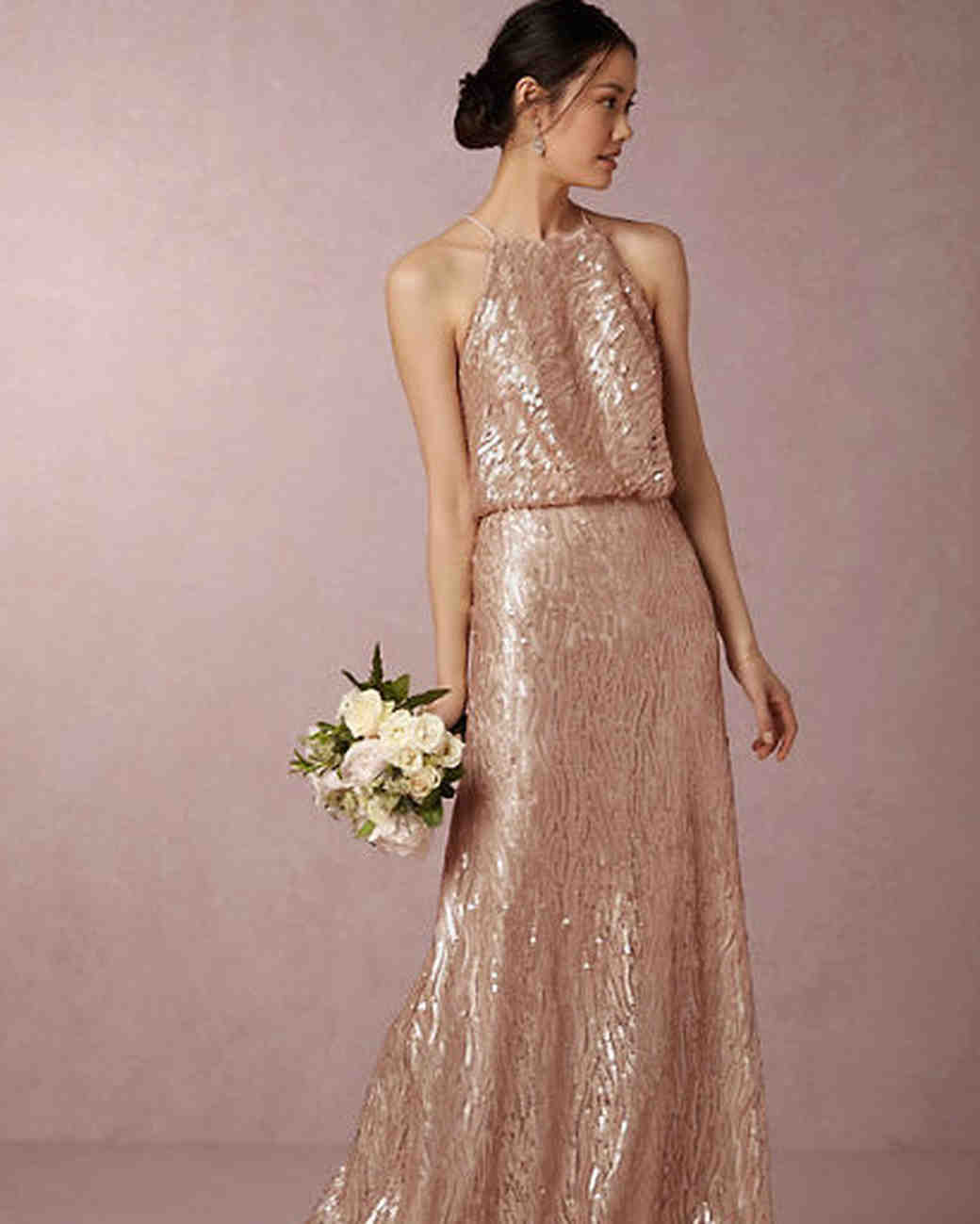 Gold Gowns Wedding: Martha Stewart Weddings