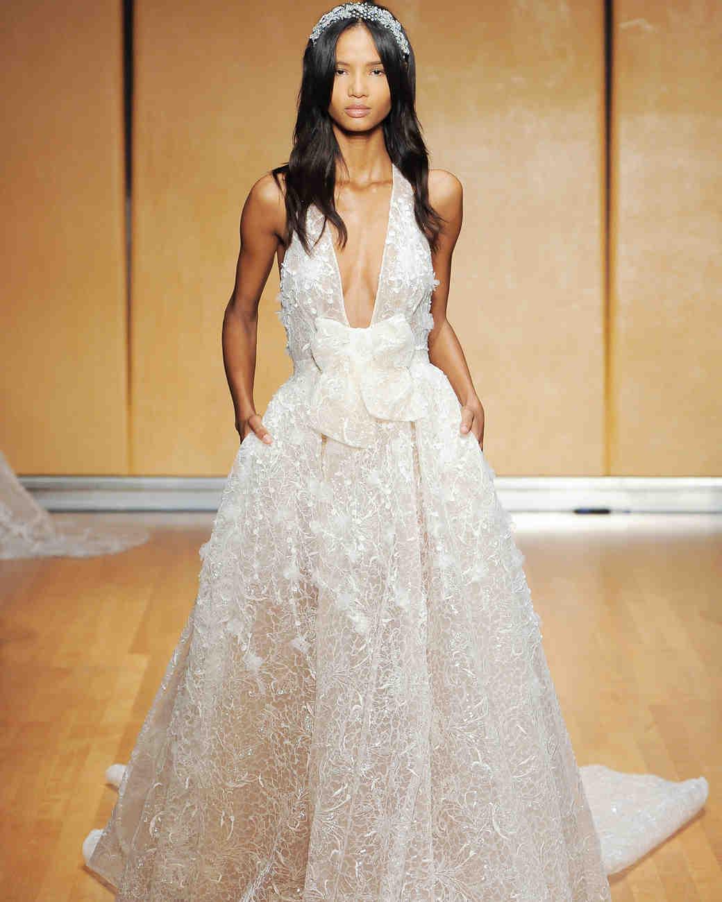 Inbal Dror Bow Wedding Dress