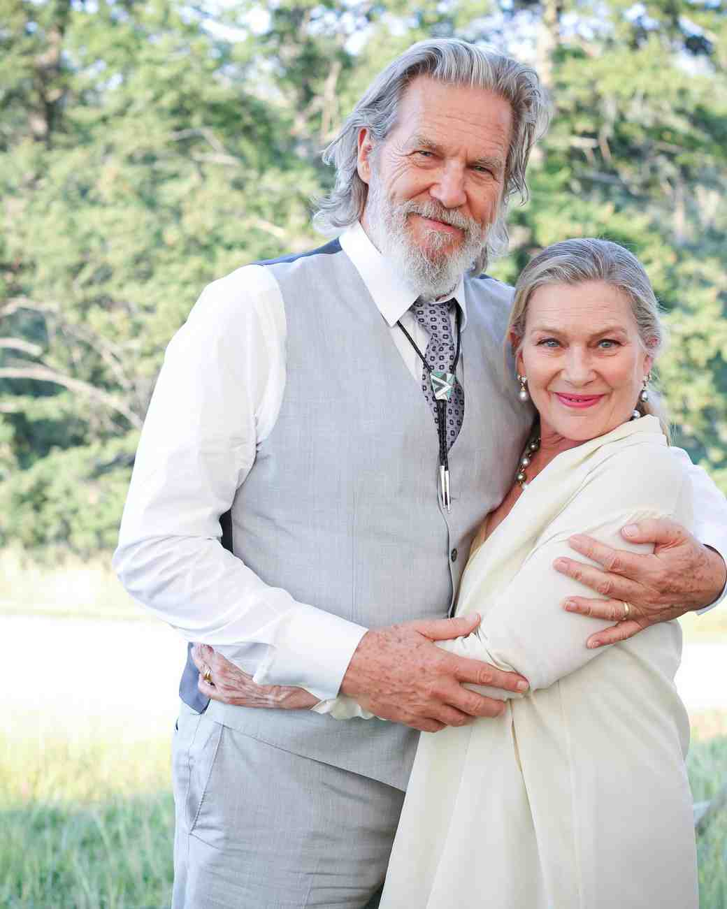wedding parents jeff bridges susan geston
