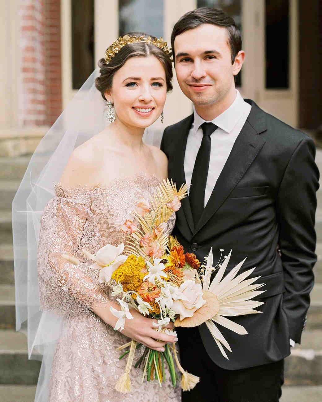 kae danny wedding couple portrait