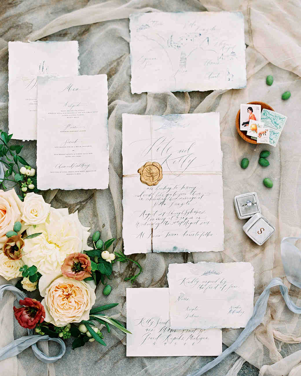 This Intimate Destination Wedding in Tuscany Had Just 16 Guests ...