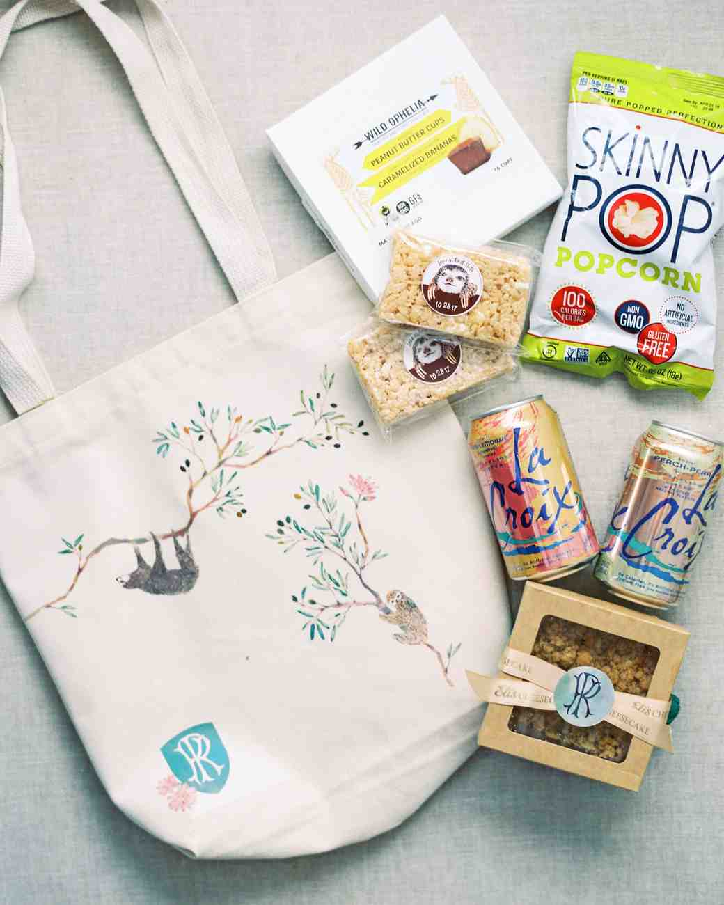 kori paul wedding welcome bag