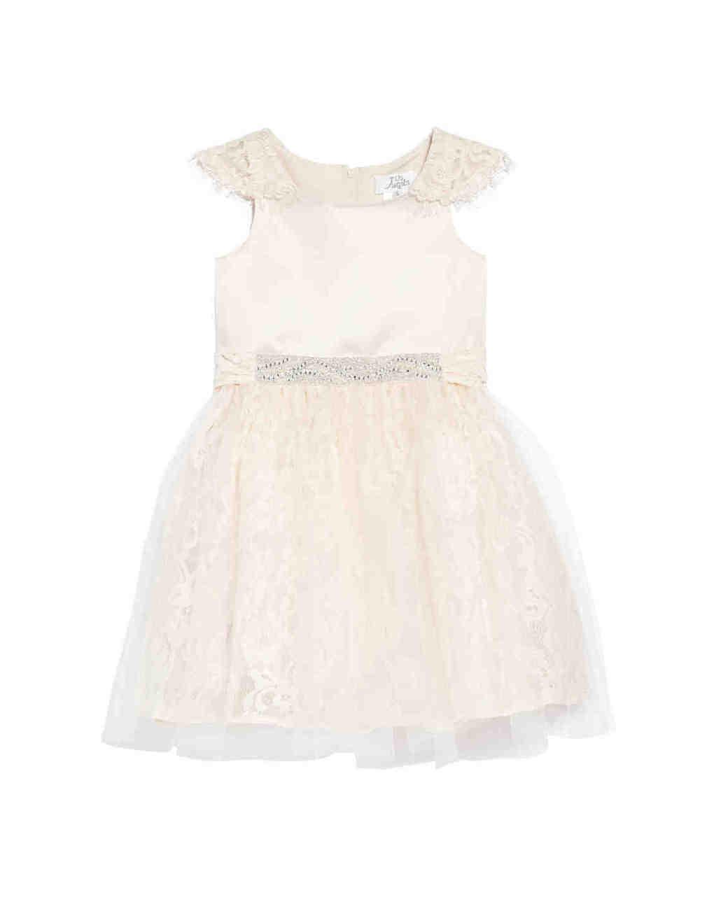 Us Angels Sarah Floral Lace Dress