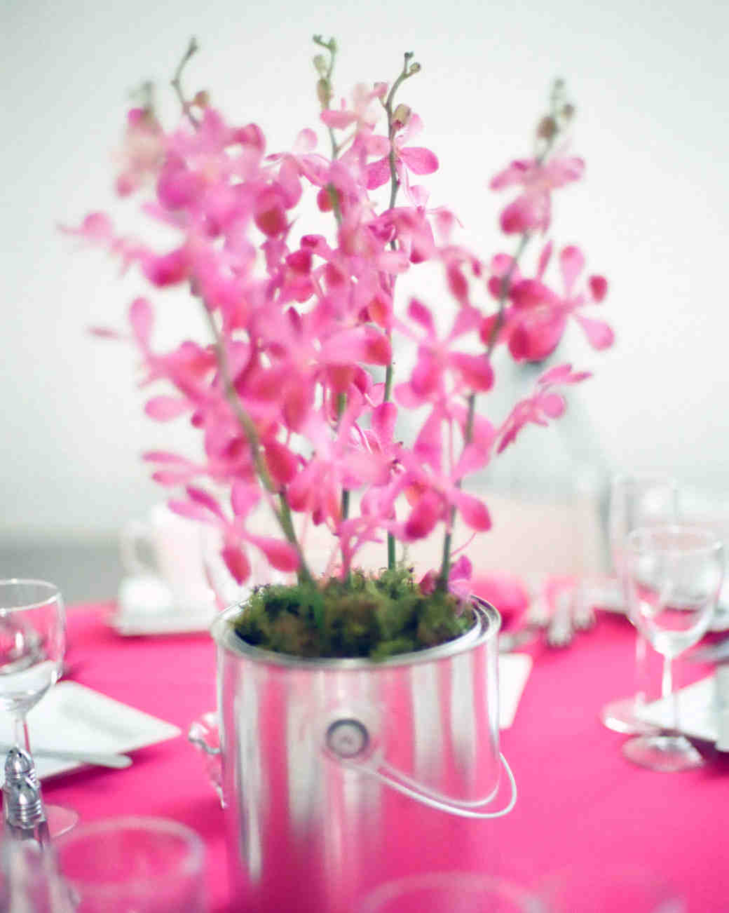 Centerpieces For Tables With Pink And Purple - 3d House Drawing •