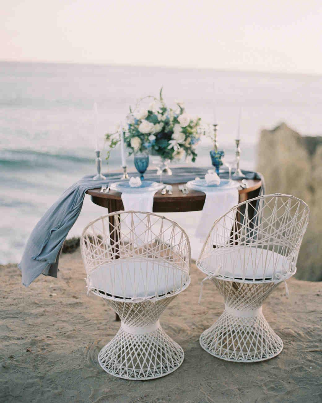 macrame wedding decor blue rose pictures