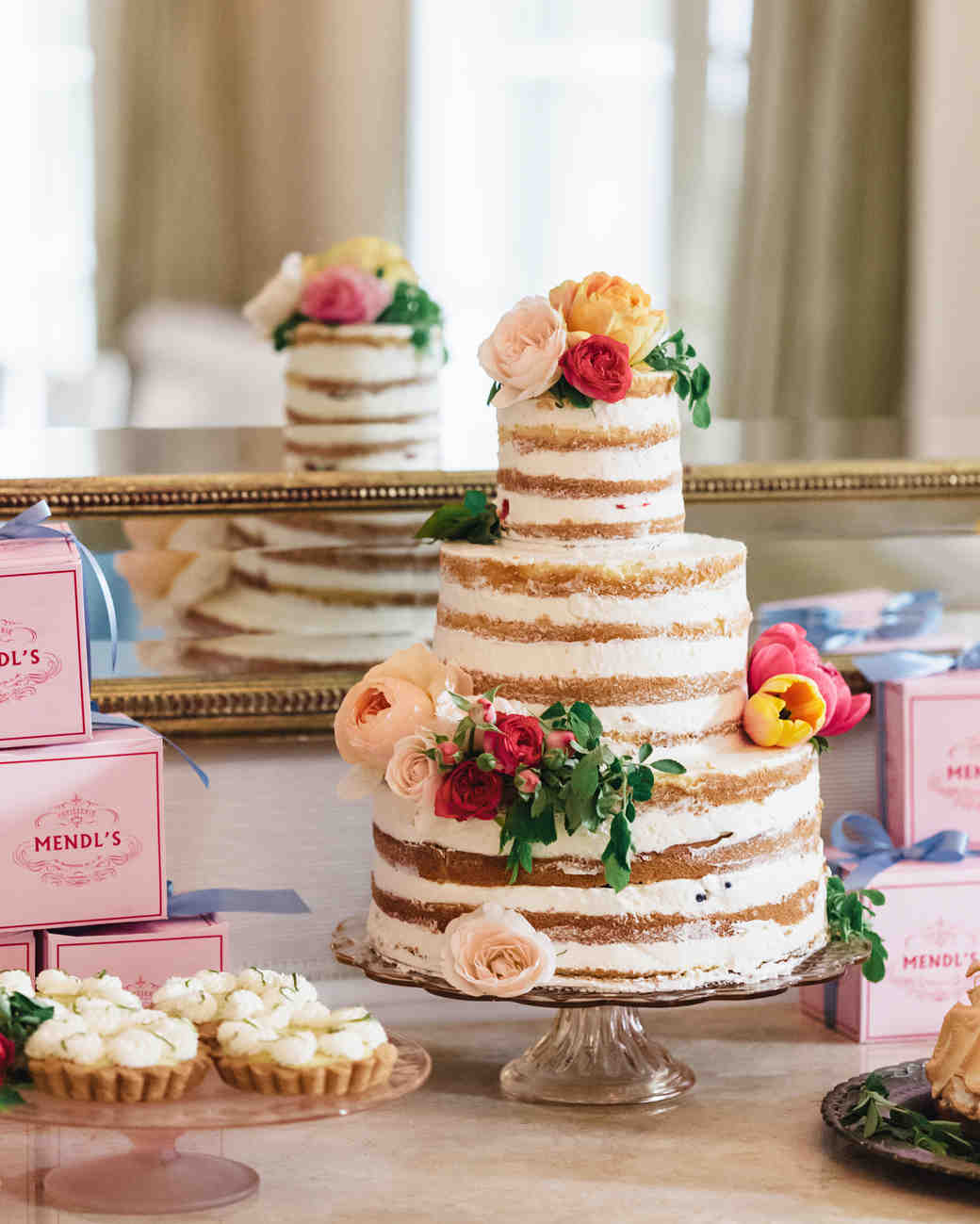 Comfortable Wedding Cakes With Cupcakes Tiny Wedding Cake Pops Clean Disney Wedding Cake Toppers Peacock Wedding Cake Youthful Wedding Cakes Orlando GreenStar Wars Wedding Cake Toppers 44 Naked Cakes For Your Wedding | Martha Stewart Weddings
