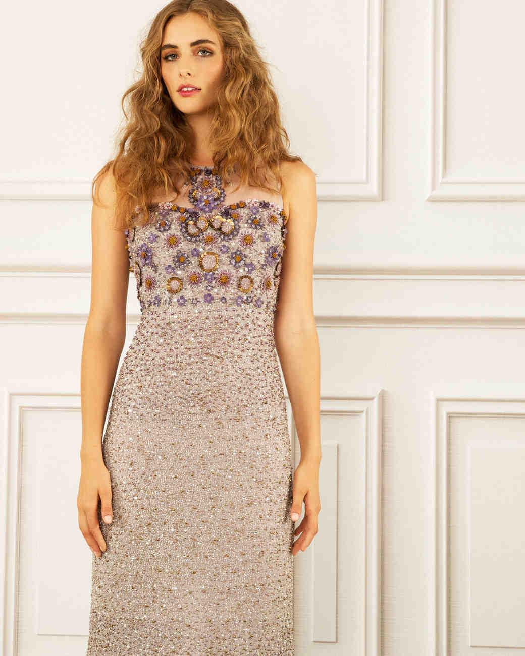 maria korovilas wedding dress spring 2017 short sparkles