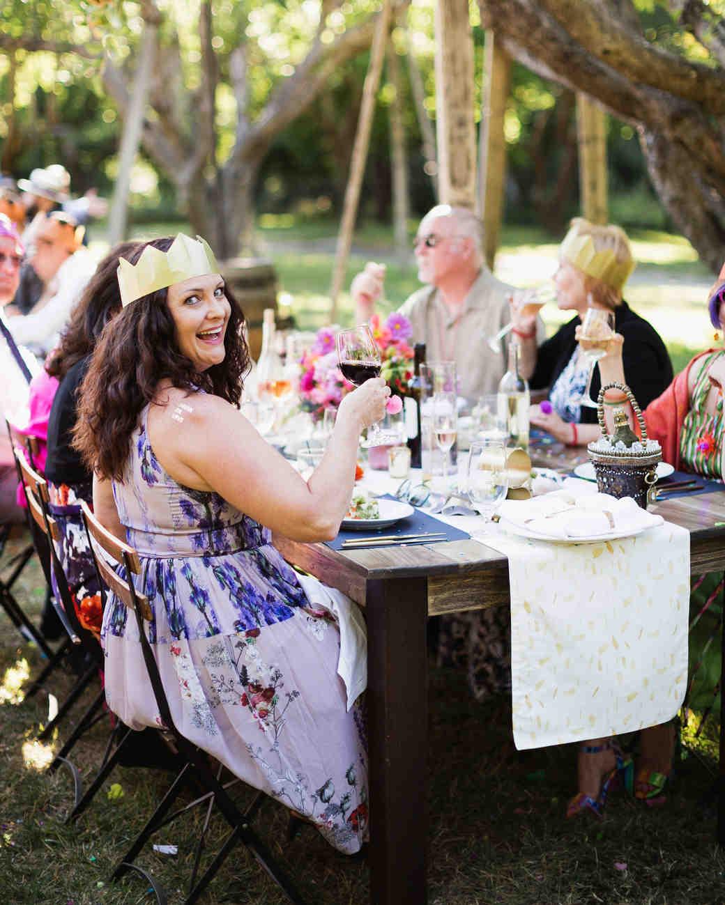 molly adam wedding reception guests