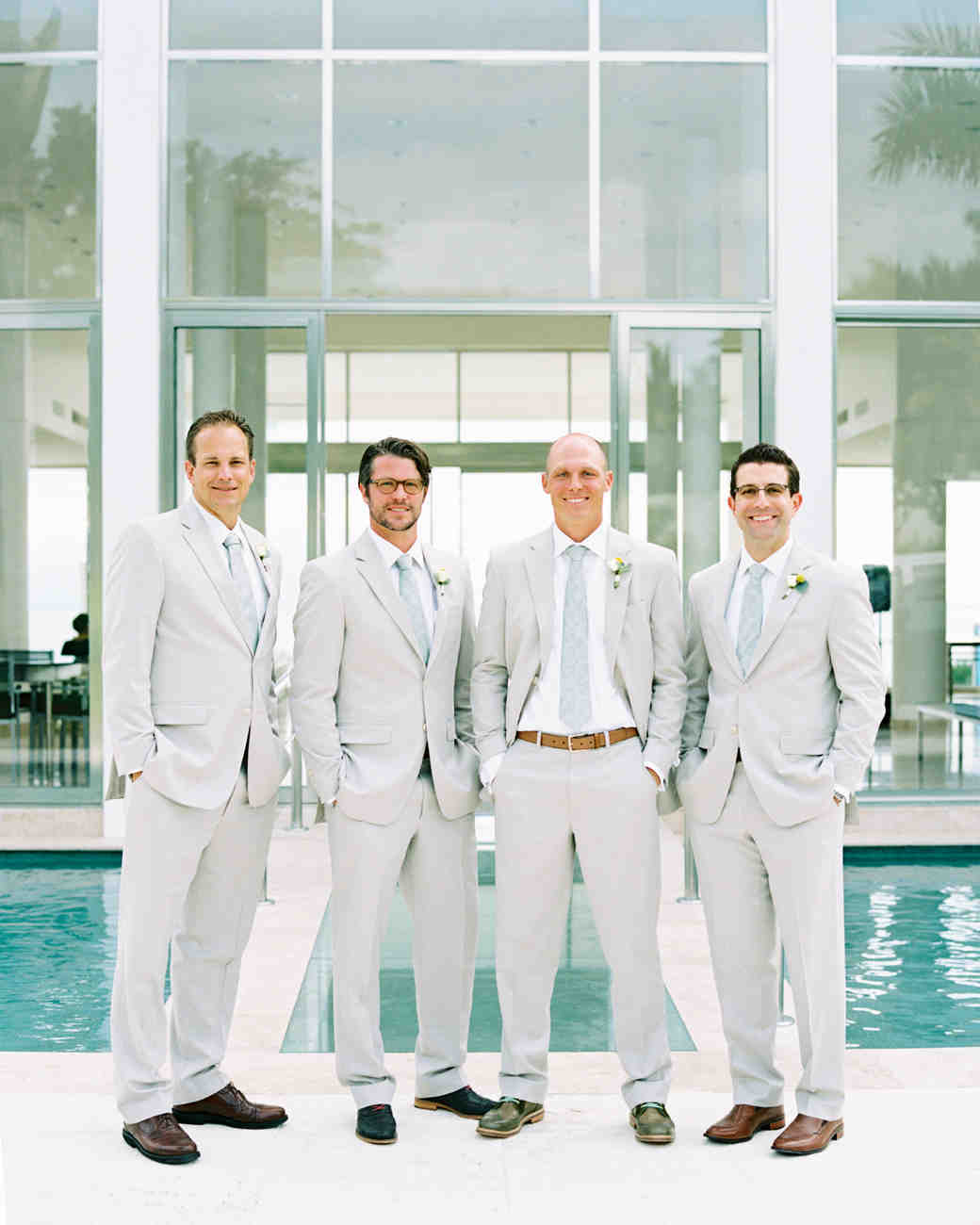 30 Fun Ideas for a Poolside Wedding | Martha Stewart Weddings