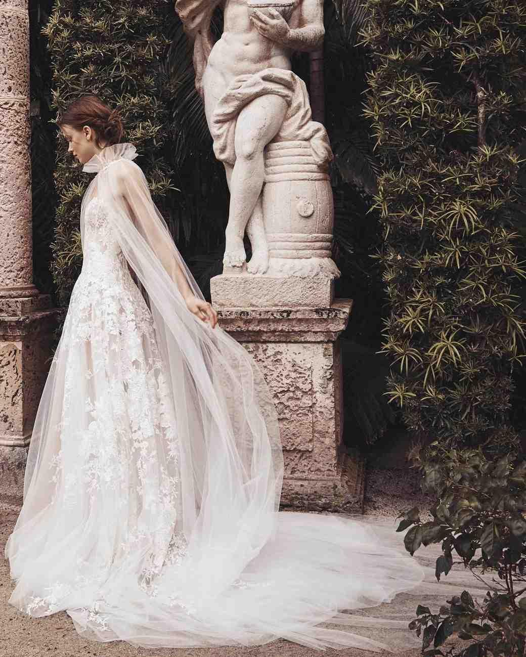 6421189a437d Monique Lhuillier Spring 2020 Wedding Dress Collection | Martha Stewart  Weddings