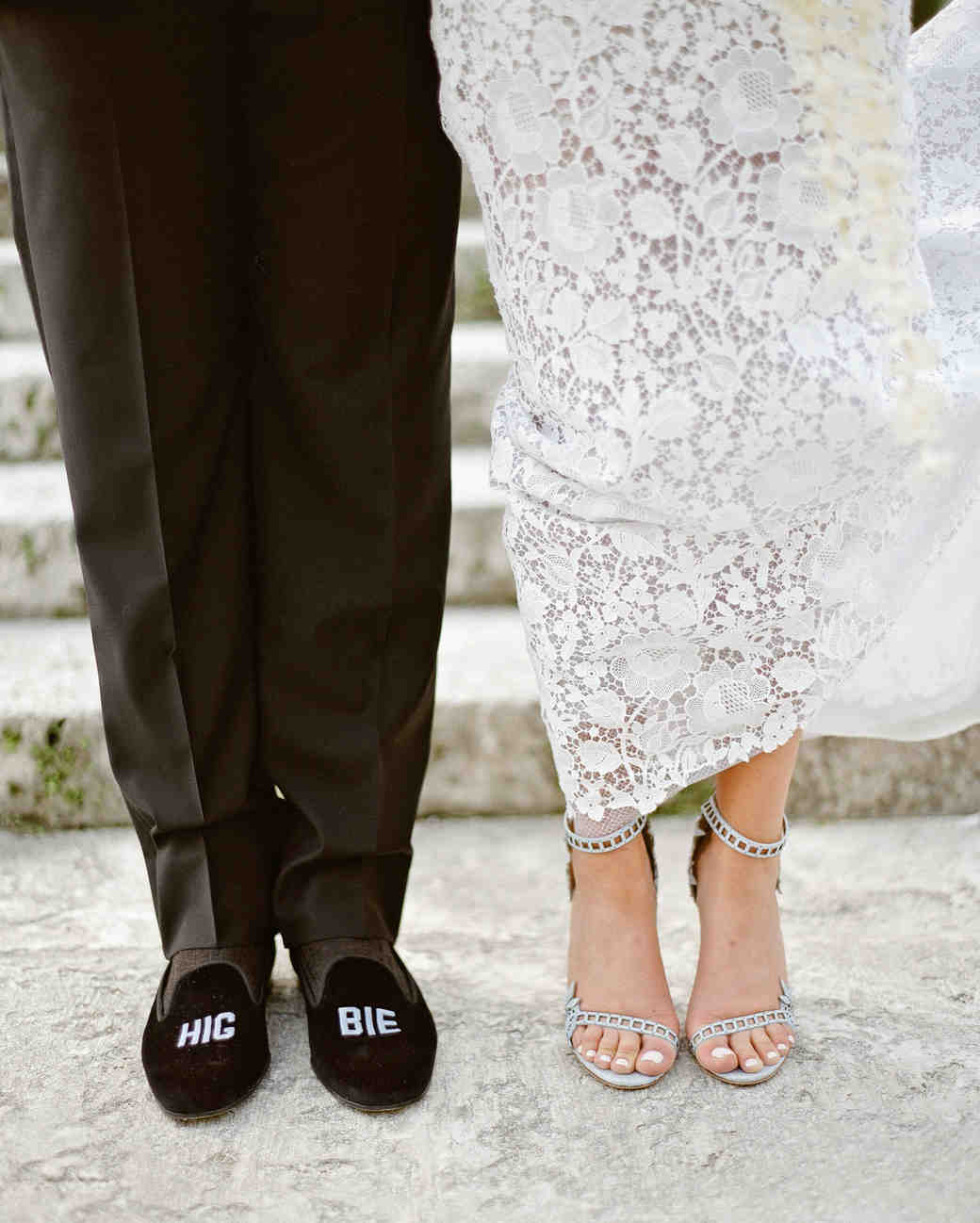 natalie jamey wedding shoes closeup