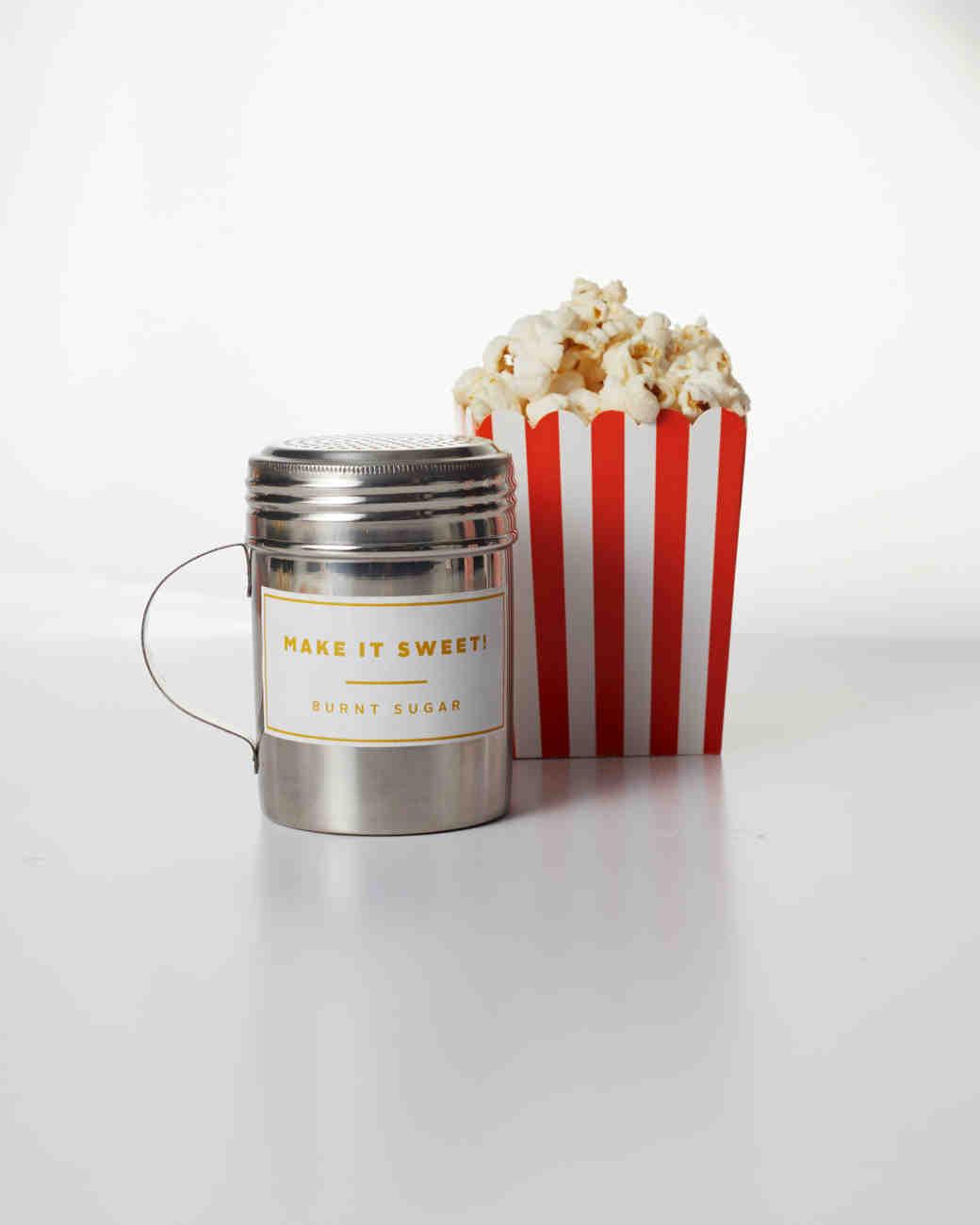Burnt Sugar Popcorn Topping