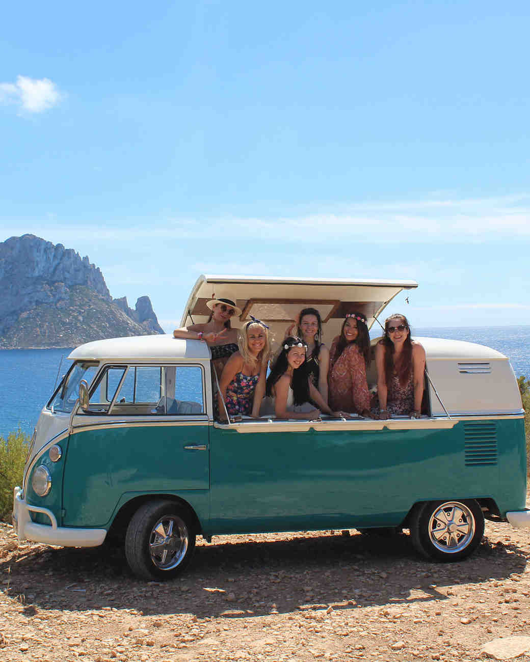 real brides bachelorette moonshine ibiza vw
