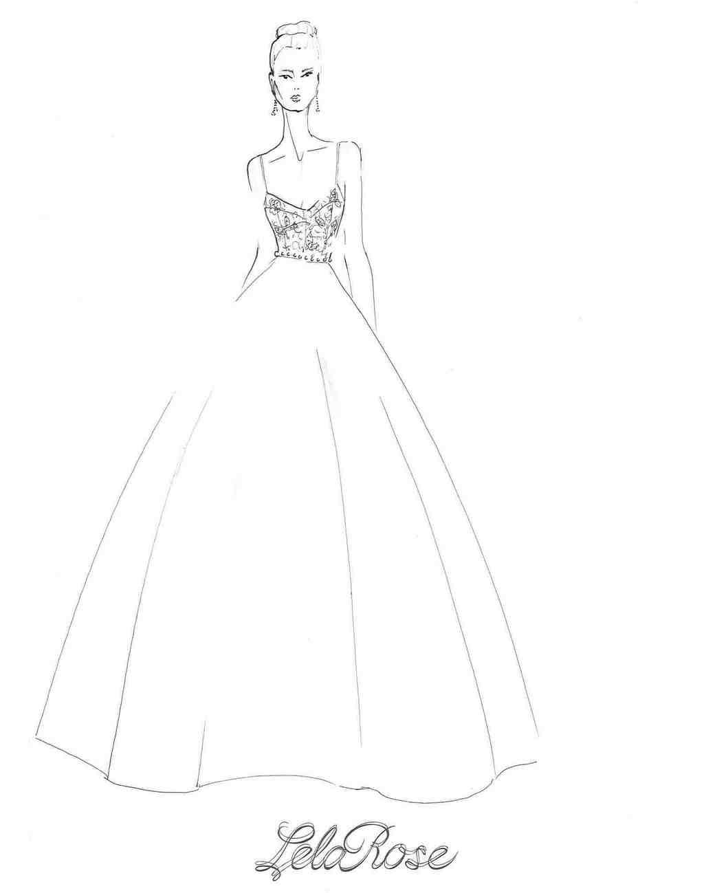 Spring 2018 BFW Sketches Lela Rose