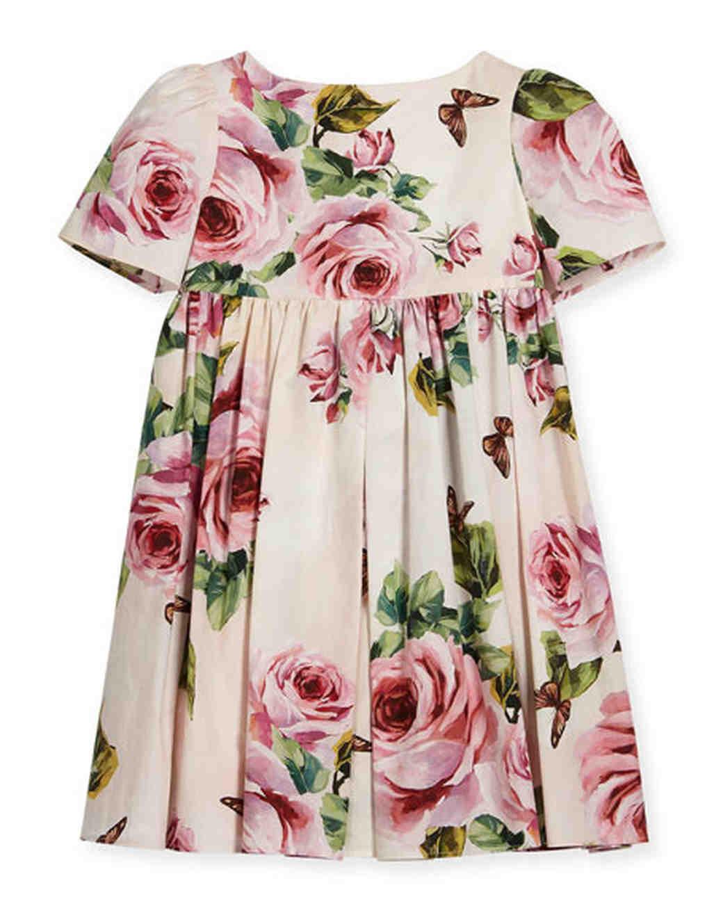spring flower girl dresses dolce gabbana