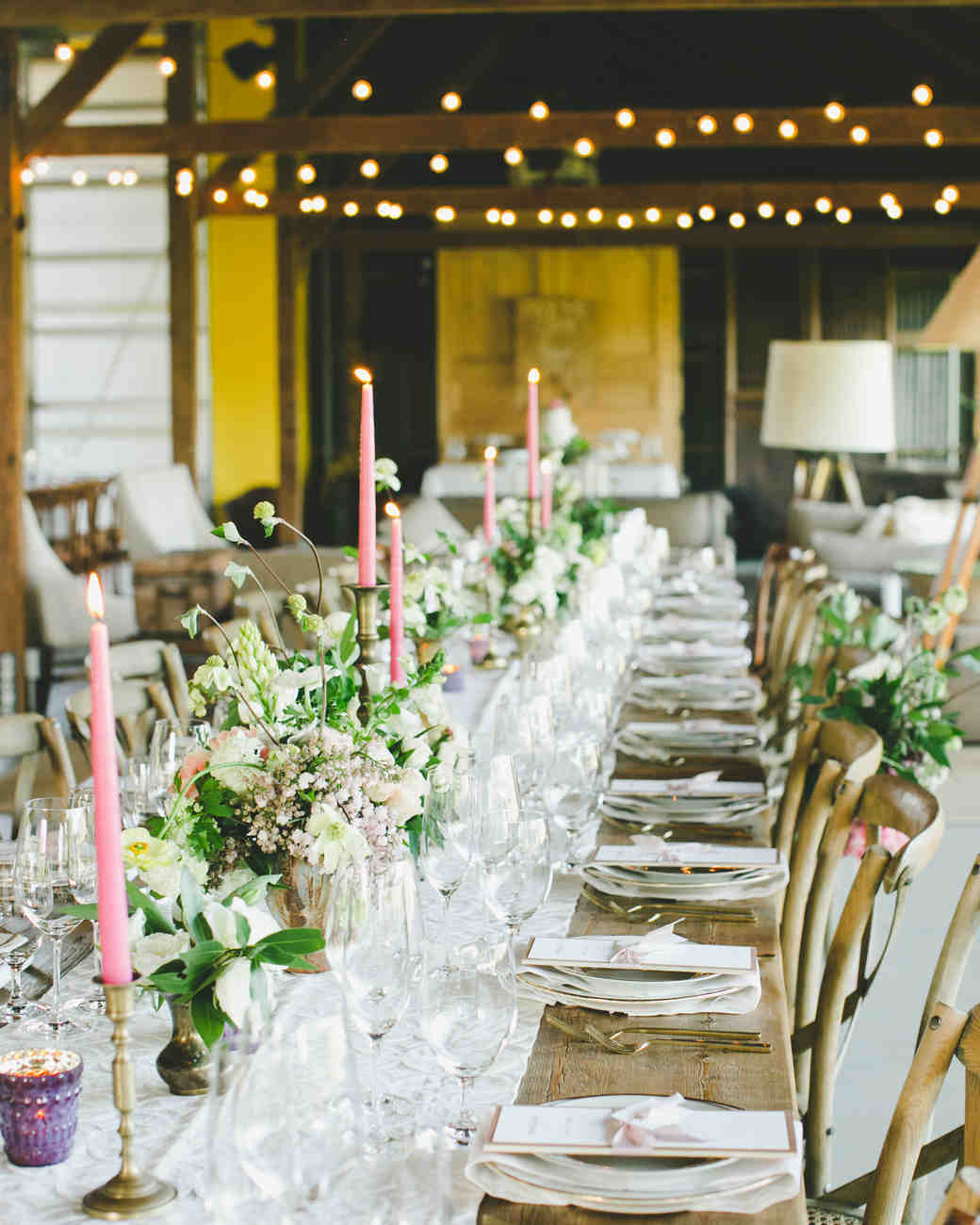 Spring Wedding Centerpiece Ideas: 23 Candle Centerpieces That Will Light Up Your Reception