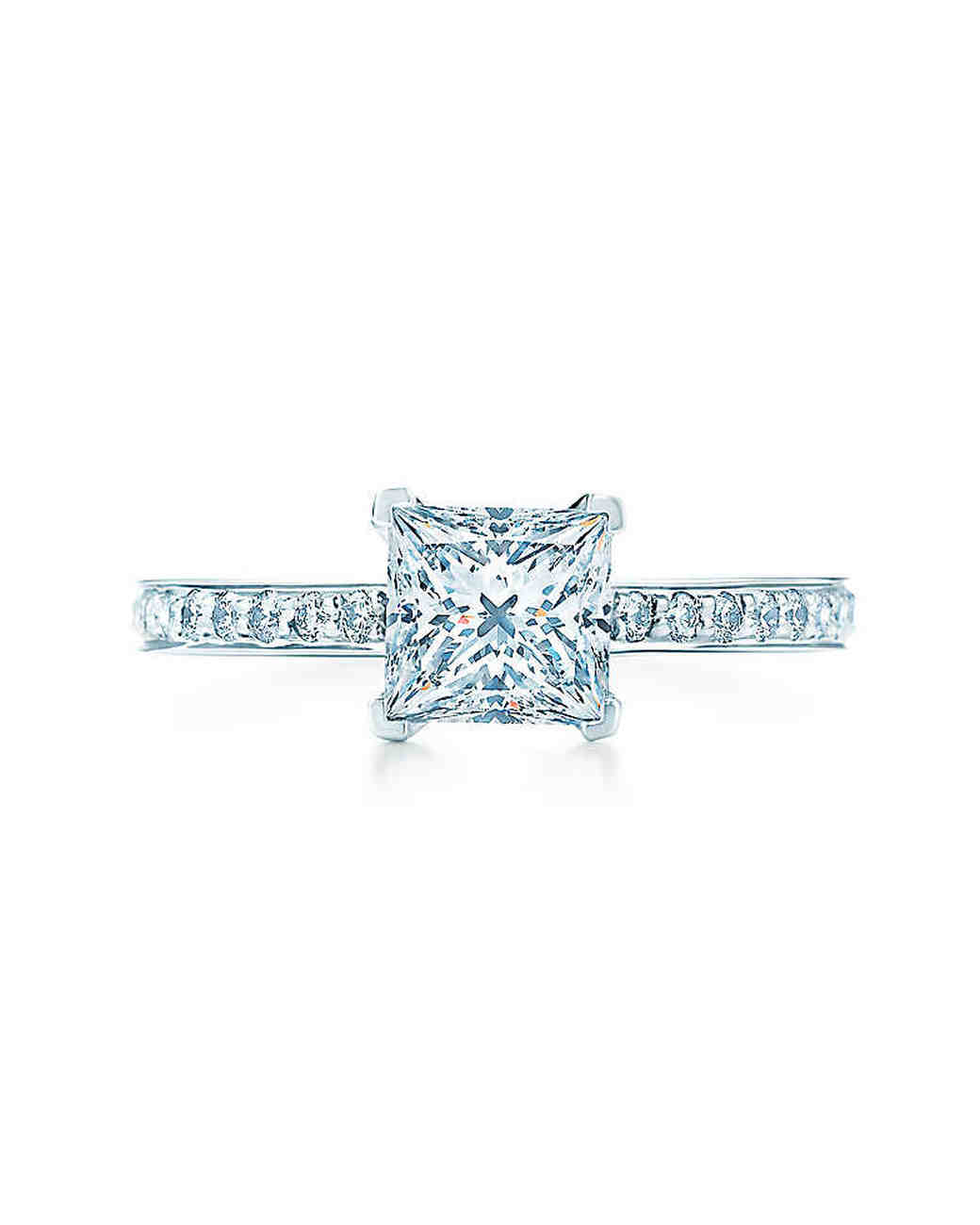 Tiffany & Co. Princess-Cut Engagement Ring