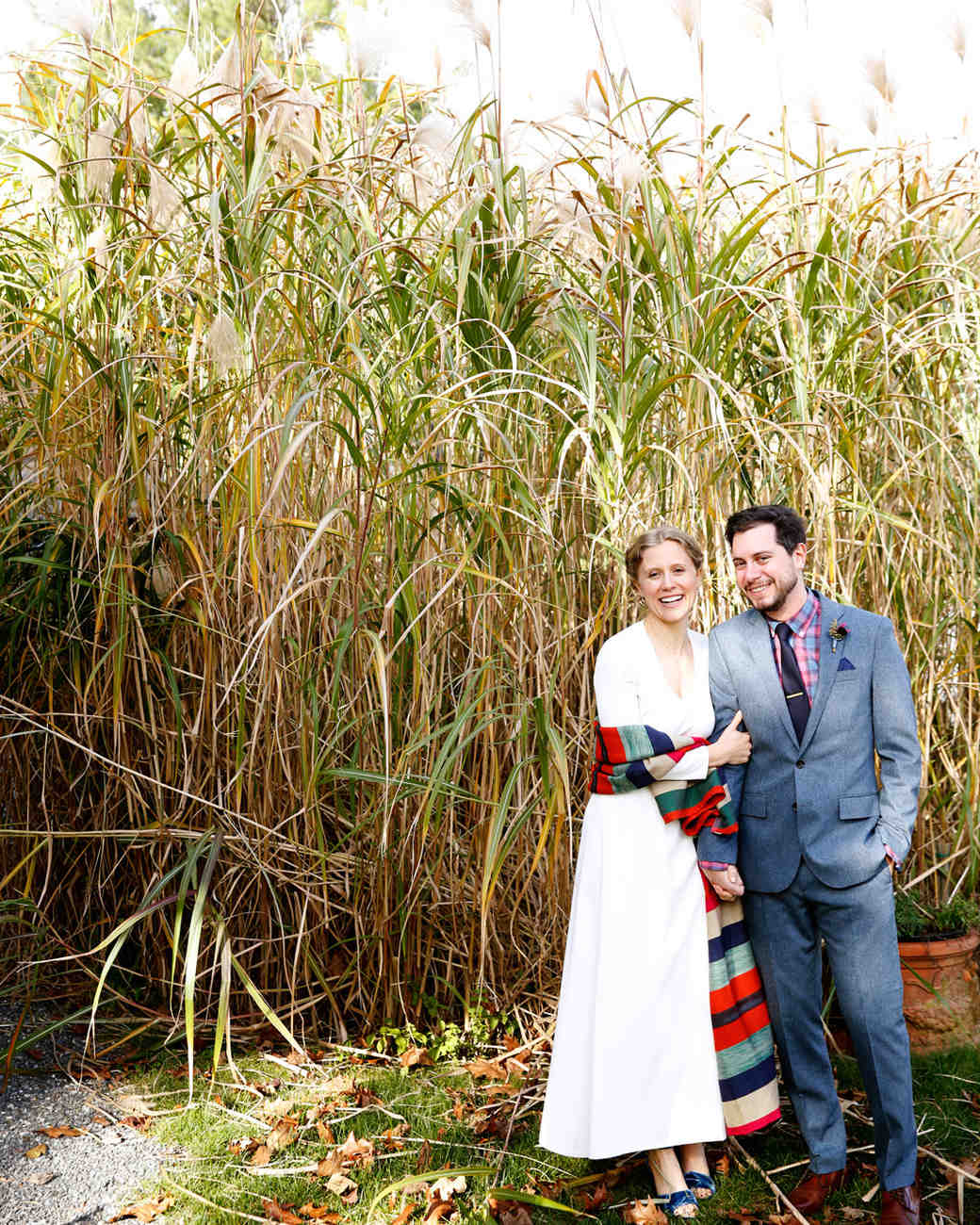 tory jonathan wedding couple in field